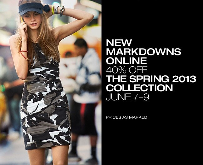50% OFF SPRING 2013 COLLECTION