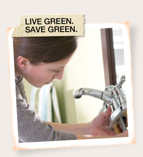 Live Green. Save Green.