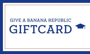 GIVE A BANANA REPUBLIC GIFTCARD