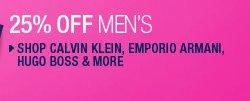 Shop Calvin Klein, Emporio Armani, Hugo Boss & More