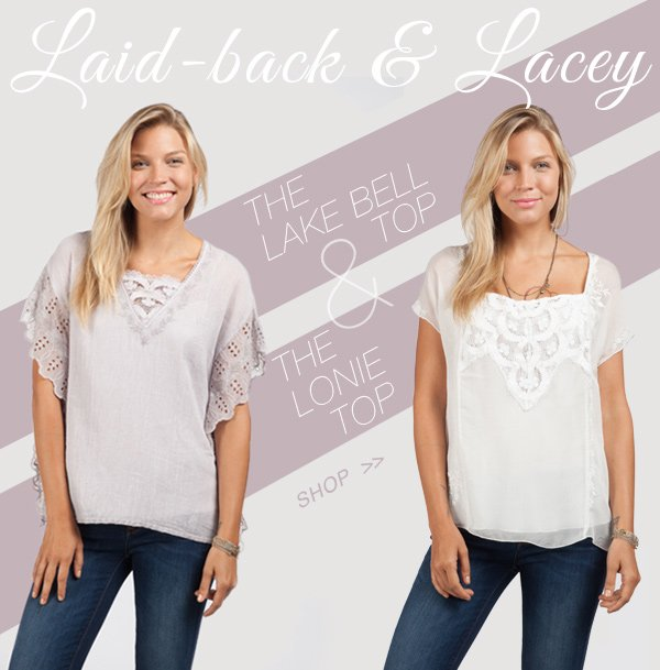 The Lonie Top and Lake Bell Top