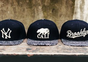 Shop MLB Hats ft. Tribal Prints