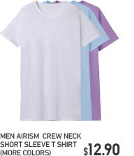 MEN AIRISM CREW NECK