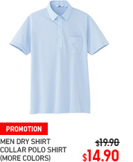 MEN DRY COLLAR POLO