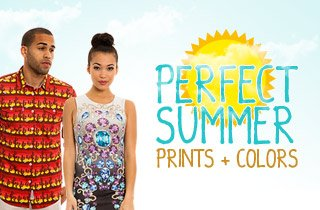 Perfect Summer Prints and Colors