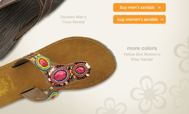 Sizzling Sandals!