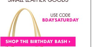 25% OFF HANDBAGS & SMALL LEATHER GOODS