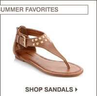 USE YOUR FRIENDS AND FAMILY COUPON ON YOUR SUMMER FAVORITES. SHOP SANDALS.