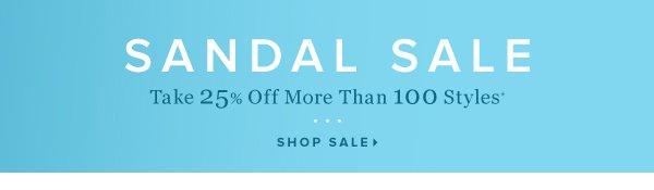 Sandal Sale Take 25% Off Flats, Wedges & More* - - Shop Sale