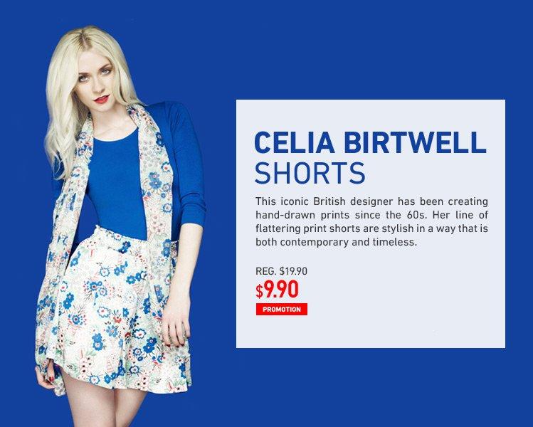 CELIA BIRTWELL SHORTS