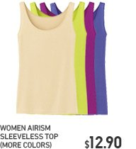 AIRISM SLEEVELESS TOP
