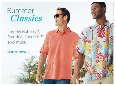 Summer Classics. Shop now.
