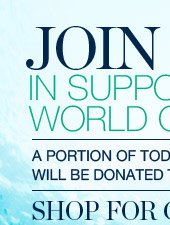 JOIN US IN SUPPORTING WORLD OCEANS DAY
