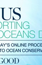 A PORTION OF TODAY'S ONLINE PROCEEDS WILL BE DONATED TO OCEAN CONSERVANCY