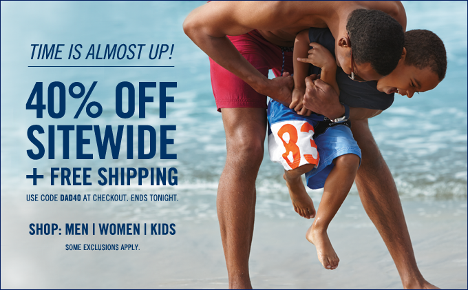 Flash Sale! Take 40% off sitewide. Shop now.