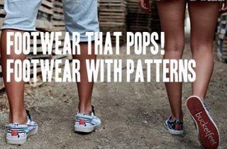 Footwear with Patterns