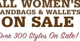 All Handbags & Wallets On Sale