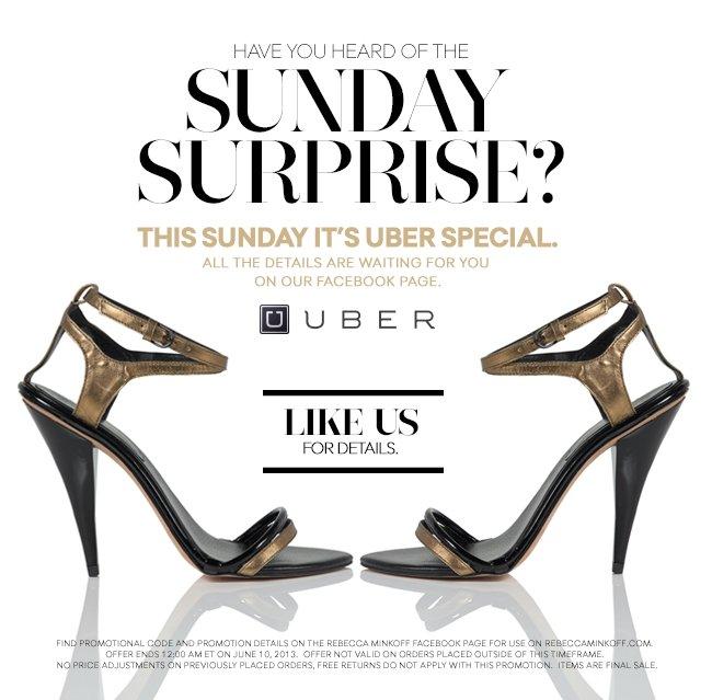 The Uber Sunday Surprise
