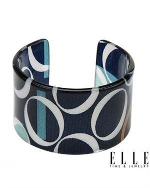 ELLE Ladies Bracelet Designed In Multicolor Plastic