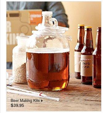 Beer Making Kits, $39.95