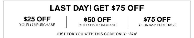 Receive $50 Off Your $150 Purchase