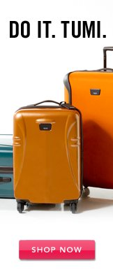 Tumi. Shop Now.