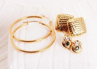 Gold Weekend: Earrings Sale