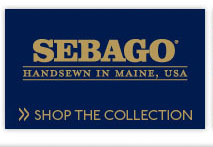 Handsewn in Maine, USA