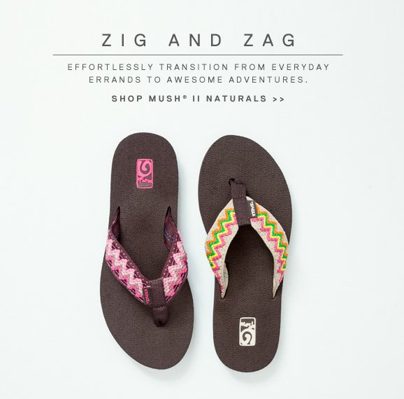 Zig and Zag. Effortlessly transition from everyday errands to awesome adventures. Shop mush II naturals >>