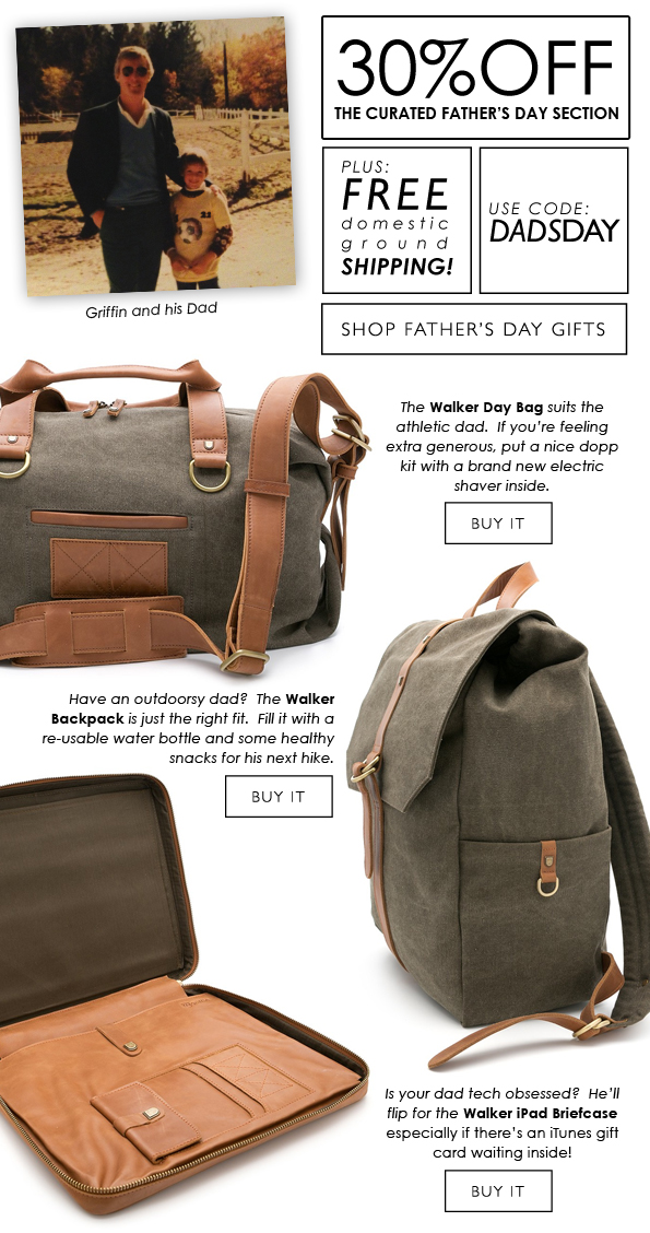 30% OFF The Curated Father's Day Section