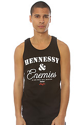 The Hennessey & Enemies Tank in Black