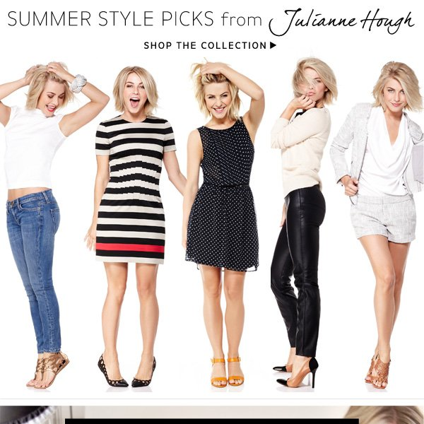 Shop the Julianne Hough for Sole Society Collection
