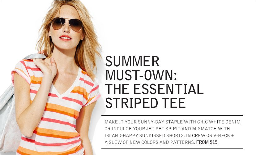 SUMMER MUST-OWN: THE ESSENTIAL STRIPED TEE