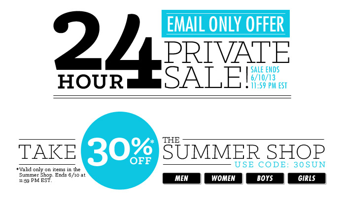 Shop DrJays.com Take 30% Off The Summer Shop With Promo Code.