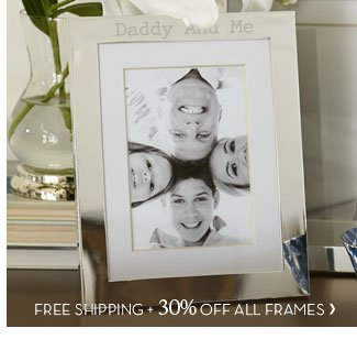 FREE SHIPPING + 30% OFF ALL FRAMES