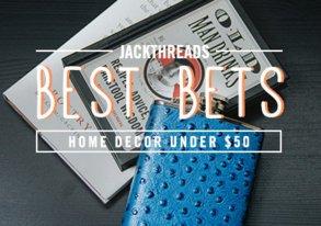 Shop Best Bets Under $50: Decor We Dig