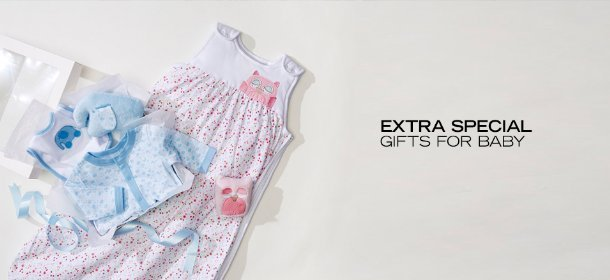 EXTRA SPECIAL: GIFTS FOR BABY, Event Ends June 12, 9:00 AM PT >