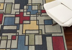 Mod Style: '70s Inspired Rugs