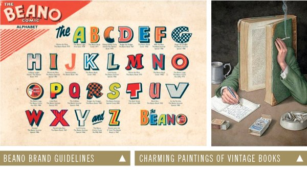 Beano Brand Guidelines | Charming Paintings of Vintage Books