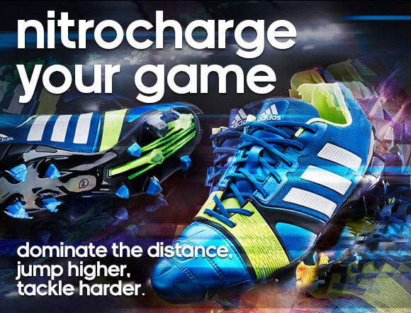 Shop Men's Nitrocharge Soccer Cleats »