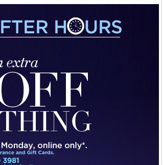 Take an EXTRA 30% OFF EVERYTHING! Ends Monday at 12pm!