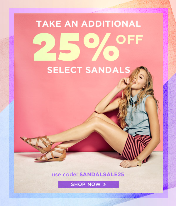Shop Sandals Sale