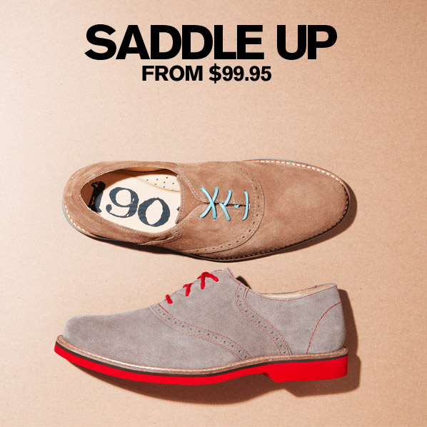 SADDLE UP FROM $99.95