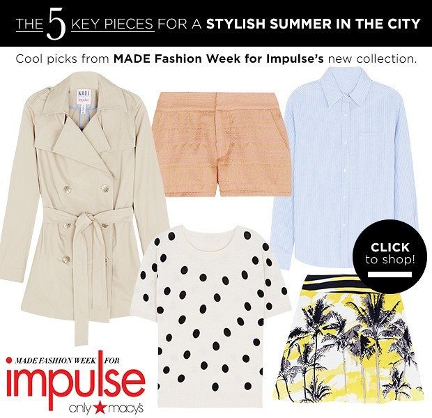 Our Stylish Picks For A Summer In The City