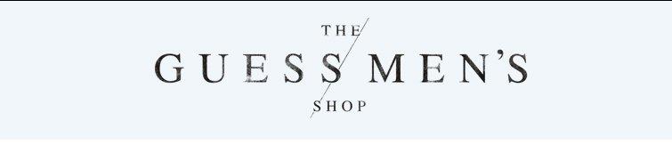 The Guess Men's Shop