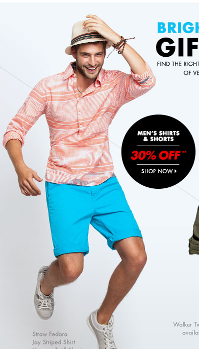 Men's shirts 30% off