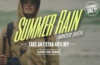 Summer Rain – Winter Sh$%: Take 40% Off