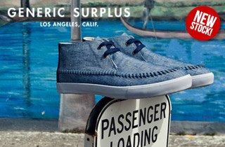 Generic Surplus: New Stock