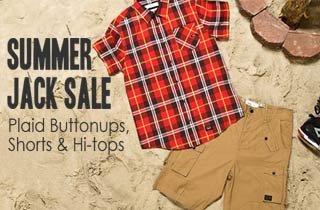 Plaid Buttonups, Shorts, & Hi-tops