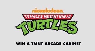 Win a TMNT Arcade Cabinet